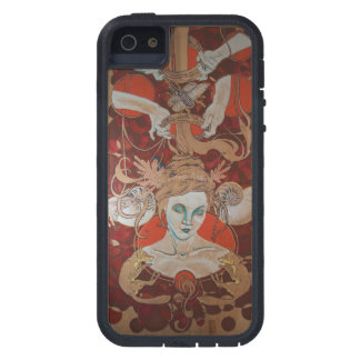 cosmic hair portal thing iPhone 5 cover