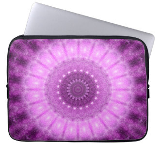 Cosmic Heart Mandala Laptop Sleeves