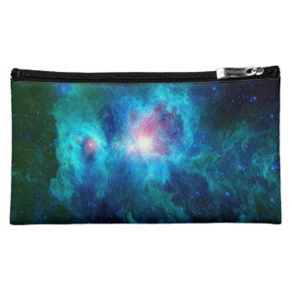 Cosmic Hearth Azul Cosmetic Bag