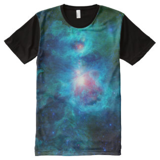 Cosmic Hearth Azure All-Over Print T-Shirt