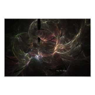 Cosmic Hearts by Kitty Ann Poster