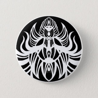 Cosmic Horror (Black and White) 6 Cm Round Badge