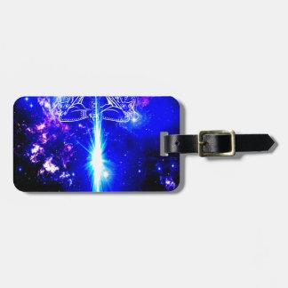 Cosmic Iridescence Luggage Tag