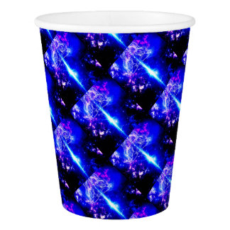 Cosmic Iridescence Paper Cup