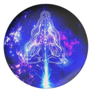 Cosmic Iridescence Plate