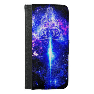 Cosmic Iridescent Koi iPhone 6/6s Plus Wallet Case