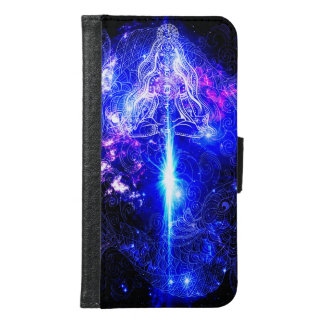 Cosmic Iridescent Koi Samsung Galaxy S6 Wallet Case