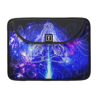 Cosmic Iridescent Koi Sleeve For MacBook Pro