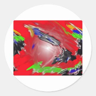 Cosmic Kid Round Sticker