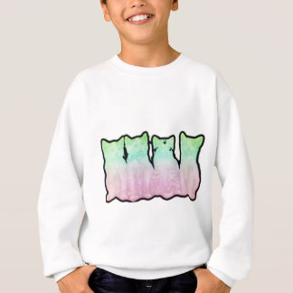 Cosmic Kittens Rainbow Sweatshirt