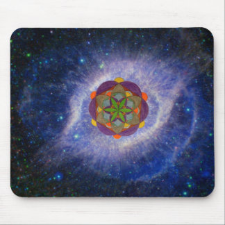Cosmic Light Mouse Pad