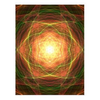 Cosmic Light Postcard