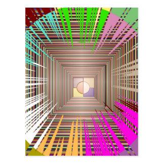 Cosmic Light Source Design Post Card