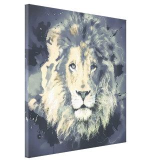 COSMIC LION KING CANVAS PRINT