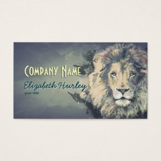 COSMIC LION KING | Custom Business Cards