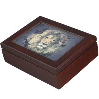 COSMIC LION KING   Custom Keepsake Box