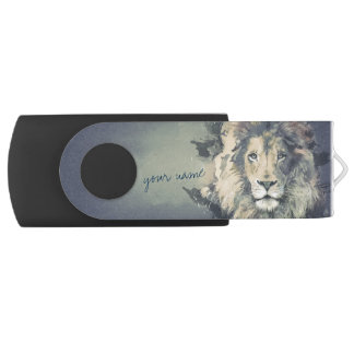 COSMIC LION KING | Custom USB Flash Drive Swivel USB 3.0 Flash Drive