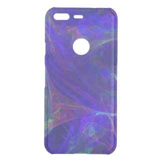 Cosmic Look Mists of bright Pink Green on Blue Uncommon Google Pixel Case