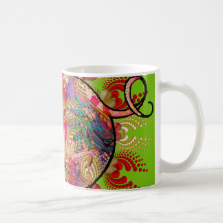 Cosmic Love Pig Coffee Mug
