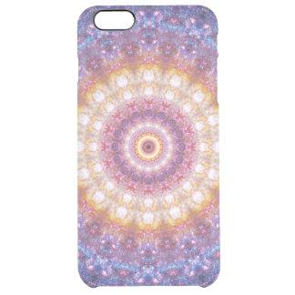 Cosmic Mandala Clear iPhone 6 Plus Case
