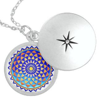 Cosmic Mandala Locket Necklace