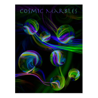 Cosmic Marbles Postcard