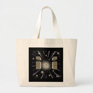 Cosmic,New Age,Metaphysical Tot Bag. Large Tote Bag