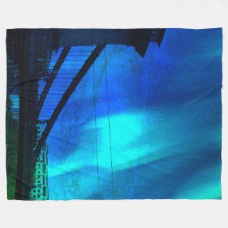Cosmic Night in Budapest Fleece Blanket
