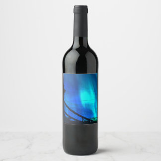 Cosmic Night in Budapest Wine Label