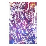 Cosmic Owl Custom Stationery