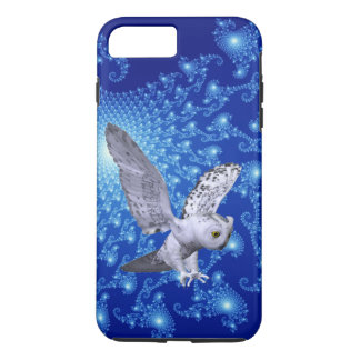 Cosmic Pictures And Owl 3D Look iPhone 7 Plus Case