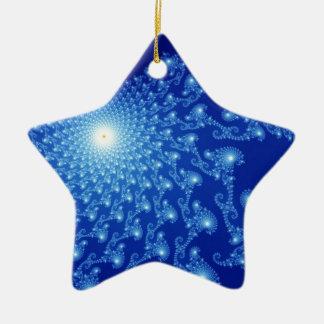 Cosmic Pictures Ceramic Star Decoration