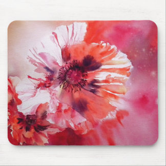 Cosmic Poppies Mouse Pad