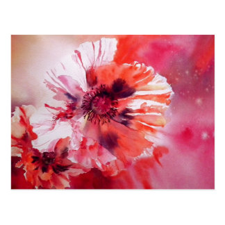 Cosmic Poppies Post Cards
