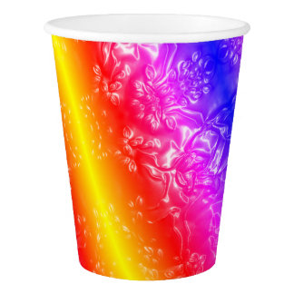 Cosmic Rainbow Paper Cup