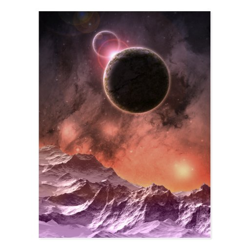 Cosmic Range Postcard