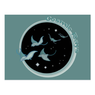 Cosmic Rays Postcards