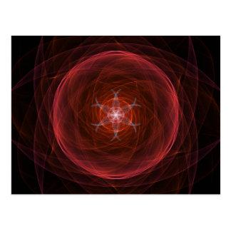 Cosmic Red Orb Postcard