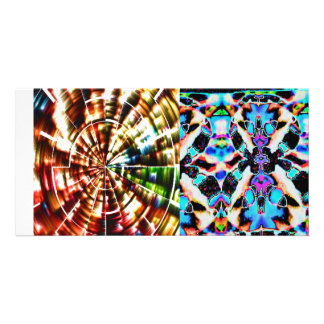 COSMIC REIKI HEALING PERSONALIZED PHOTO CARD