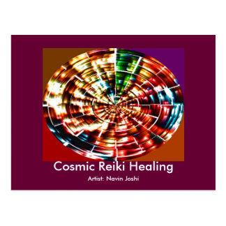 COSMIC REIKI HEALING POSTCARDS