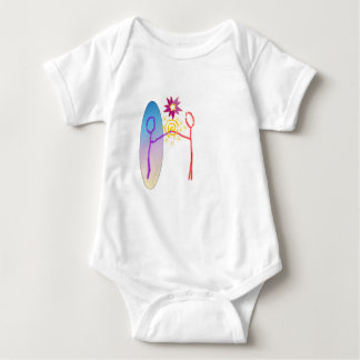 Cosmic Reunion: Fear_Feels_Love Baby Bodysuit