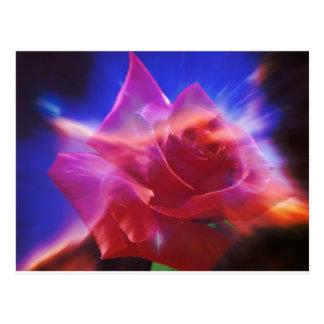 Cosmic Rose Postcard