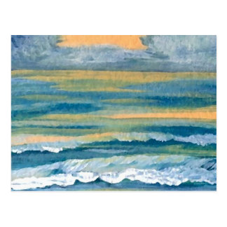 Cosmic Sea - CricketDiane Ocean Art Products Postcards