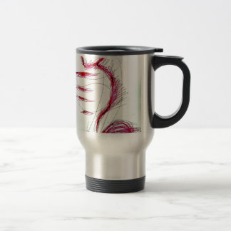 Cosmic Serpent Dance Travel Mug