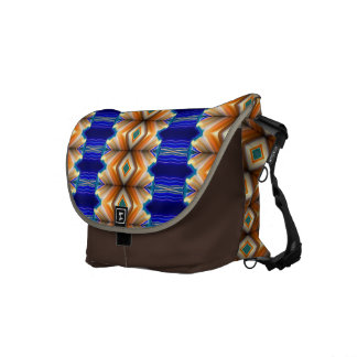 Cosmic Shell Kaleidoscope Commuter Bag