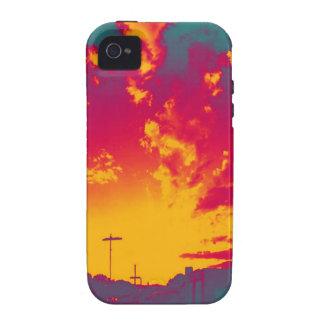 Cosmic Sky Vibe iPhone 4 Case