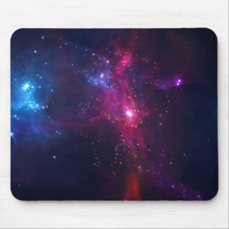 Cosmic Space Stars and Nebula Mouse Pad
