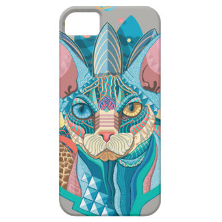 Cosmic Sphynx Cat Barely There iPhone 5 Case