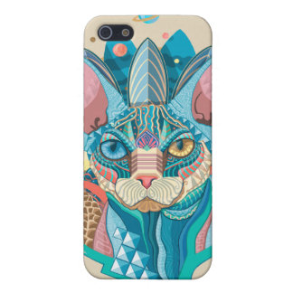Cosmic Sphynx Cat Cover For iPhone 5/5S
