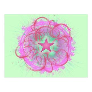 Cosmic Star Awakening Postcard